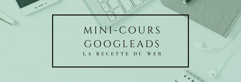 Mini-Cours GoogleAds et SEA