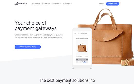 BigCommerce-Paiements