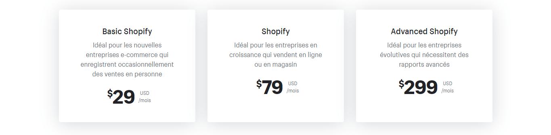 Shopify-Tarifs-boutique-ecommerce