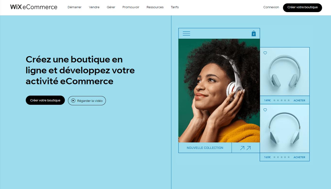 Solutions e-commerce de Wix