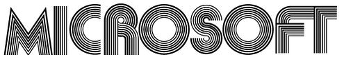 Logo-ecriture-Microsoft-1975